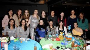 Anilú, Pamela, Elena, Sofía, Cardina, Silvia, Mafer, Faty, Paty, Sofía, Samantha, Mey, Marcela, Blanca y Dalia.