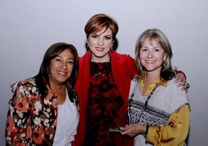 Juanita, Luisa y Chelita.