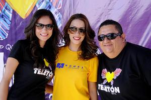 Elsie Vargas, Ana Isabel Muñoz y Flippy Nevárez.