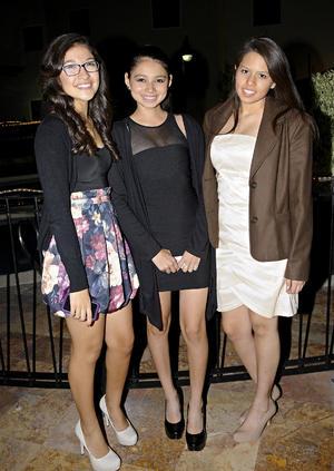 Karen, Jimena y Andrea.