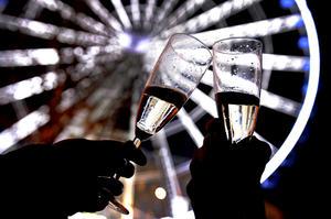 Personas de todo el mundo brindaron al primer minuto del 2013.