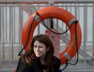 Pasajeros hablaron de escenas de caos y pánico entre los cientos de ocupantes. Ninguno de los ocupantes del transbordador cayó al agua.