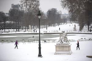 Turistas han recorrido los principales atractivos de París que lucen una vista espectacular.