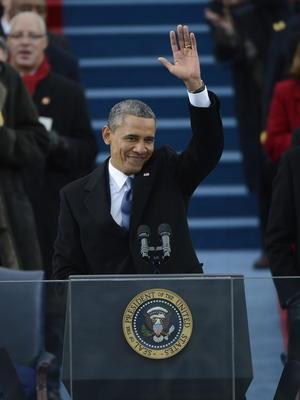 """El mandatario declaró que las """"posibilidades de Estados Unidos son infinitas"""", pues la economía está en recuperación y una década de guerra está llegando a su fin."""