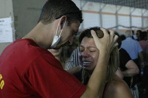 """""""Hoy es un día de cuidar de estas personas. Tenemos que orar y mostrar toda nuestra solidaridad a estas personas y rezar mucho por las víctimas"""", dijo la secretaria de los Derechos Humanos de Brasil."""
