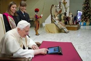 Benedicto XVI fue el primer Papa 'tuitero' iniciando una cuenta en la red social el 12 de diciembre de 2012.