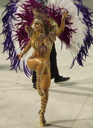 Las escuelas de samba se lucieron en las distintas jornadas del carnaval de este año.