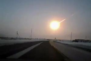 El meteorito fue captado en varios videos que ya circulan en la red. (AP)