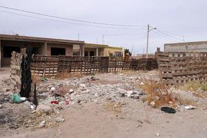 Basura y ratones. Al ubicarse a un costado del ejido La Joya, los colonos tiene que lidiar con los ratones que anidan en los montones de basura que se acumulan en el lugar.