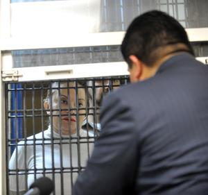 La lectura de los cargos fue hecha con la presencia del juez penal del caso, Alejandro Caballero, y de la defensa legal de Gordillo.