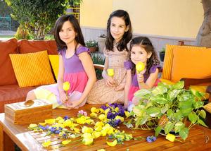 Paulina, Sofía y Miranda.