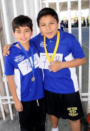 Carlos  Romero y Daniel Villarreal.