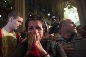 En distintas partes del mundo, fieles lucieron emocionados al conocer al sucesor de Benedicto XVI.