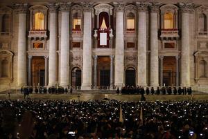 Francisco I, llamó a los fieles que pidan a Dios que le bendiga.