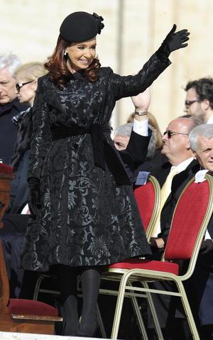A la ceremonia acudieron 132 delegaciones oficiales, entre ellas la de Argentina, encabezada por la presidenta Cristina Fernández.
