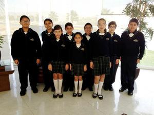 Alumnos  de primaria.