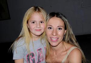 Isabella y Lupita.