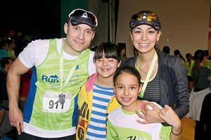 Miguel, Jimena, Desdémona  y Ana.