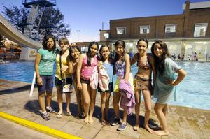 SANDRA,  Melisa, Frida, América, Natalia, Ilse, Alejandra y Ximena.