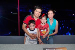 Alejandro, Rafael, Sofi y Claudia.