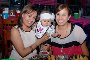 GLENDA  Maldonado, Elizabeth Ruelas y Andrea Cárdenas.