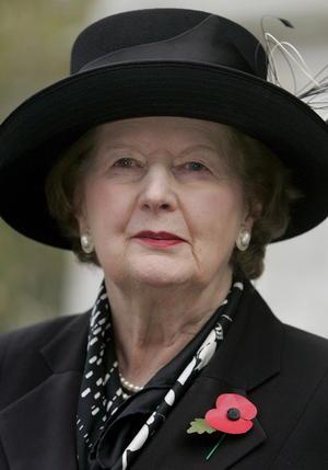 """La llamada """"dama de hierro"""", la única mujer que llegó al puesto de primera ministra en el Reino Unido y se enfrentó a Argentina en la guerra de las Malvinas en 1982, estuvo en el poder entre 1979 y 1990."""