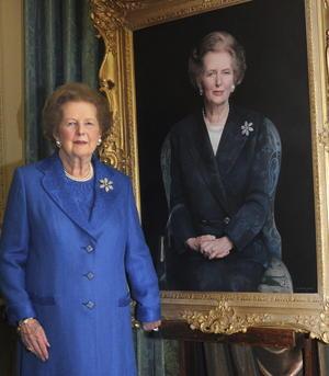 La ex primera ministra británica conservadora Margaret Thatcher murió el 08 de abril de 2013 a los 87 años de un ataque de apoplejía.