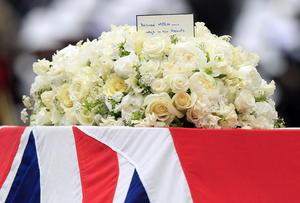 Thatcher pidió que el servicio estuviera enmarcado por música británica con composiciones de Henry Purcell, Elgar Edward y Ralph Vaughan Williams, así como poemas de Wordsworth y TS Eliot.