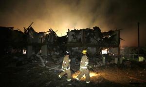 Una fábrica de fertilizantes explotó y se incendió en Waco, centro-este de Texas, lo que causó un número indeterminado de muertos y heridos.