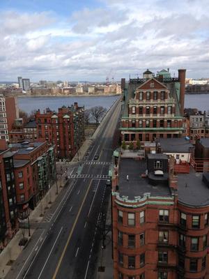 Las imágenes fueron compartidas por habitantes de Boston. (Twitter)