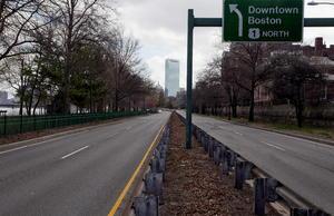 La ciudad de Boston y su zona conurbada quedaron paralizadas.