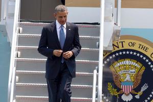 Arriba Barack Obama  a México