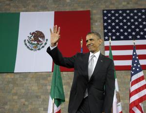 """Señaló que """"un nuevo México está emergiendo"""" y que vino al país para ver """"el progreso impresionante del México de hoy""""."""