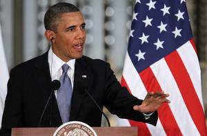 El presidente Obama, destacó los progresos que se han hecho en materia de seguridad fronteriza, en parte gracias a la colaboración con México, y volvió a reafirmar su optimismo en que la reforma migratoria saldrá adelante.