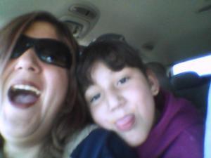Sabina Odette y Martha Arroyo.