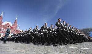 Rusia exhibió  su poderío militar con una gran parada en la plaza Roja para celebrar el 68 aniversario de la victoria de la Unión Soviética sobre la Alemania nazi.