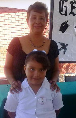 Pati Castillo, maestra de kinder.