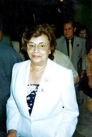 Profesora Ma. Alicia Morales Aguilera, 53 años de docencia en primaria.