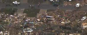 Los más afectados son los núcleos de población de Newcastle y Moore, ambos al sur de Oklahoma City.