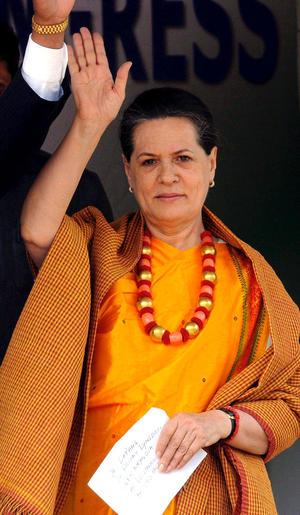 La presidenta del Partido del Congreso de India, Sonia Gandhi se ubicó en el noveno puesto.
