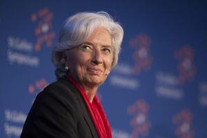 En la séptima posición se encuentra Christine Lagarde, directora gerente del FMI