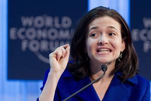 La directora de operaciones de Facebook, Sheryl Sandberg se encuentra en el lugar número 6 de la lista.