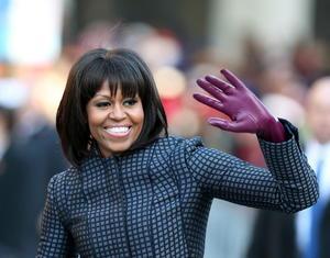 La primera dama de EU,  Michelle Obama se posicionó en el cuarto lugar de la lista de Forbes.