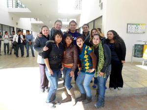 Sandra, Dibeth, Manuel, Obed, Mely, Luly, Cecy, Fernando, Ilse y Rocío
