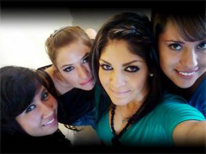 Laura Rodríguez, Cinthia Ávila, Janeth Marrufo y Luisa Pámanes.