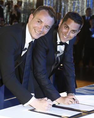 Bruno Boileau y Vincent Autin se convirtieron  en los primeros hombres que contraen matrimonio en Francia.
