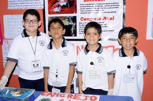 Joel, Mauricio, Alejandro y Raúl.