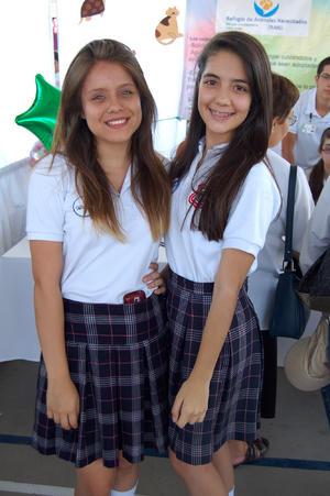 JAZMÍN  y Fernanda.
