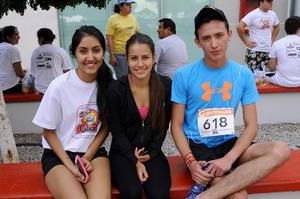 Mayra Mena, Yemile Atiyeh y Jorge Villarreal.