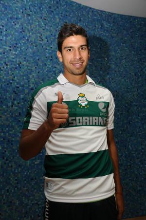 Eduardo Herrera aseguró que su expectativa es trascender con Santos Laguna.